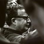 Salvador Allende, 1971, © Costa-Gavras
