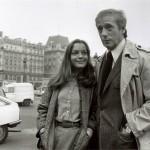 Yves Montand et Romy Schneider-1978, © Costa-Gavras