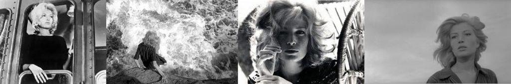 """Η Μόνικα Βίτι στην ταινία του Μικελάντζελο Αντονιόνι """"Η περιπέτεια"""""""