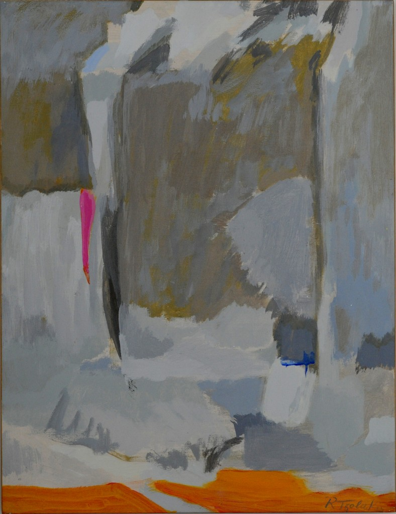 04-Rena-TZOLAKIS-Paysage-Acrylique-sur-papier-marouflé-sur-toile-50X65-Photo-Georges-BIJOURAS