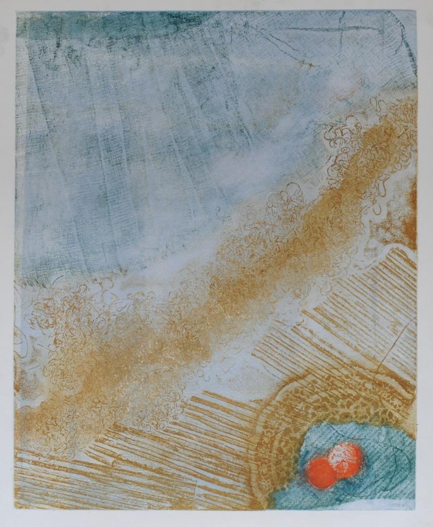20-Rena-TZOLAKIS-La-déchirure-Gravure-en-couleurs-47X57-Photo-Georges-BIJOURAS